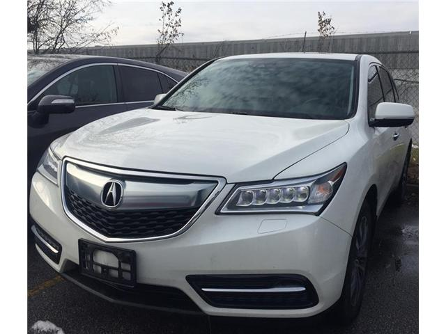 2016 Acura MDX Technology Package (Stk: 508049T) in Brampton - Image 1 of 3