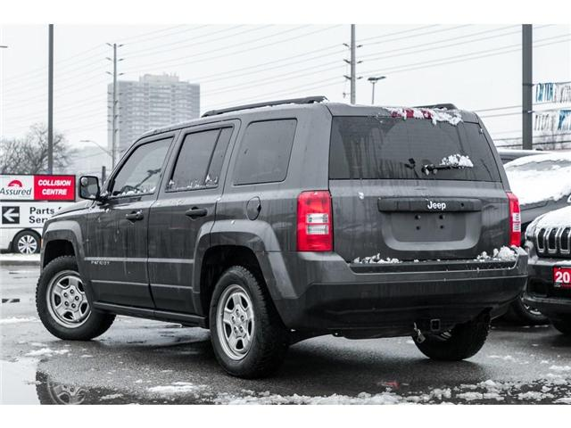 2016 Jeep Patriot Sport/North (Stk: 7802P) in Mississauga - Image 4 of 17
