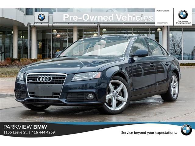 2011 Audi A4 2.0T Premium Plus (Stk: 301197A) in Toronto - Image 1 of 18