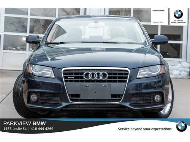2011 Audi A4 2.0T Premium Plus (Stk: 301197A) in Toronto - Image 2 of 18