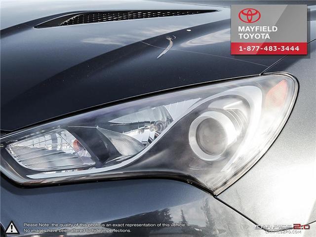 2013 Hyundai Genesis Coupe 2.0T Premium (Stk: 1801833A) in Edmonton - Image 9 of 22