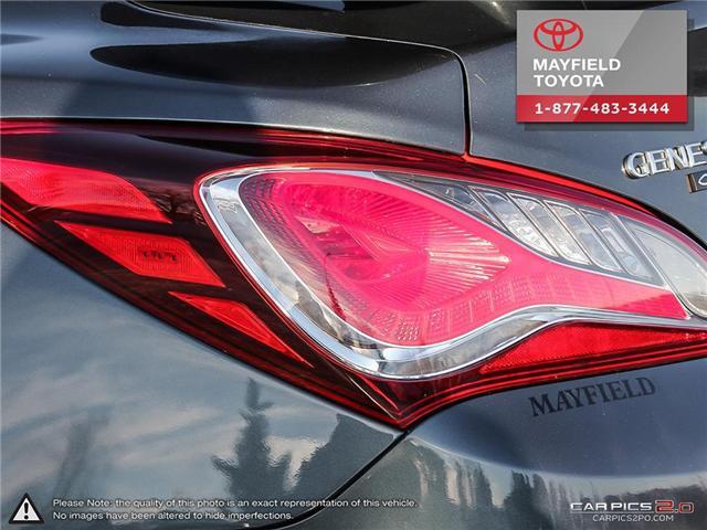 2013 Hyundai Genesis Coupe 2.0T Premium (Stk: 1801833A) in Edmonton - Image 11 of 22