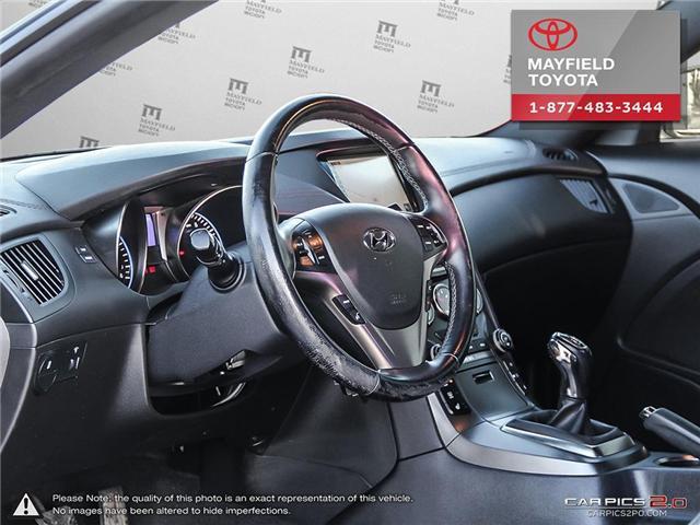 2013 Hyundai Genesis Coupe 2.0T Premium (Stk: 1801833A) in Edmonton - Image 12 of 22