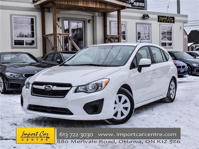 2014 Subaru Impreza 2.0i (Stk: 264300) in Ottawa - Image 1 of 18