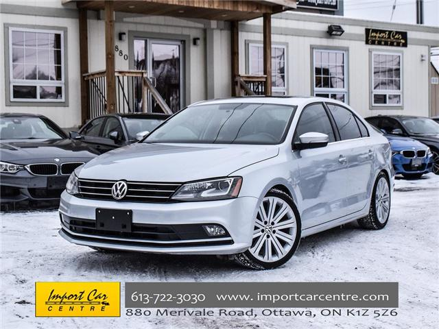 2015 Volkswagen Jetta 1.8 TSI Highline (Stk: 206154) in Ottawa - Image 1 of 22
