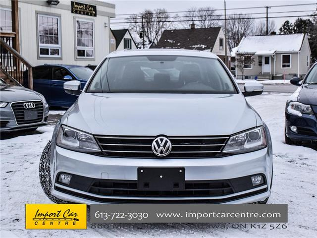 2015 Volkswagen Jetta 1.8 TSI Highline (Stk: 206154) in Ottawa - Image 2 of 22