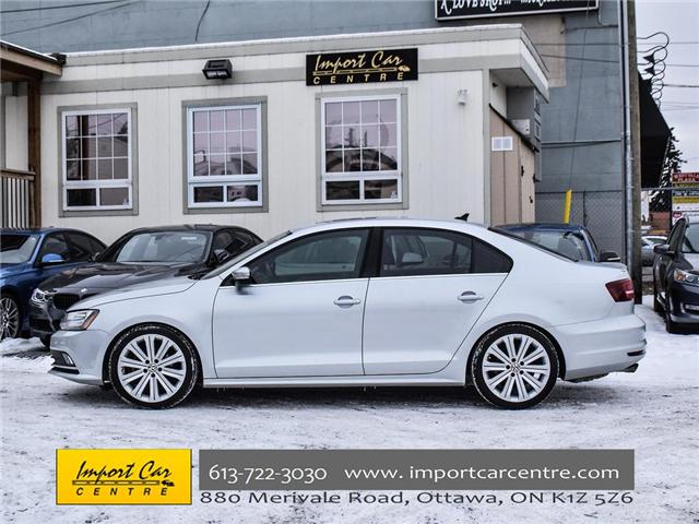 2015 Volkswagen Jetta 1.8 TSI Highline (Stk: 206154) in Ottawa - Image 3 of 22