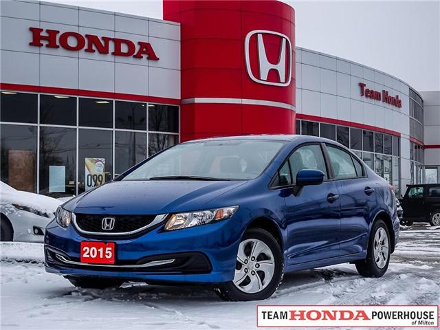 2015 Honda Civic LX (Stk: 19153A) in Milton - Image 1 of 26