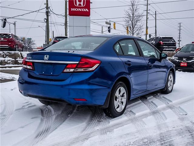 2015 Honda Civic LX (Stk: 19153A) in Milton - Image 5 of 26