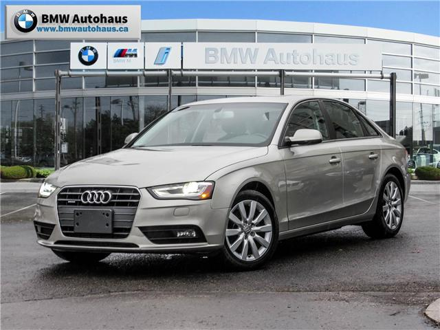 2013 Audi A4 2.0T (Stk: NN18015A) in Thornhill - Image 1 of 19