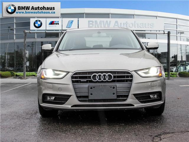 2013 Audi A4 2.0T (Stk: NN18015A) in Thornhill - Image 2 of 19