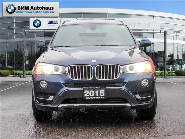 2015 BMW X3 xDrive28i (Stk: P8705) in Thornhill - Image 2 of 26