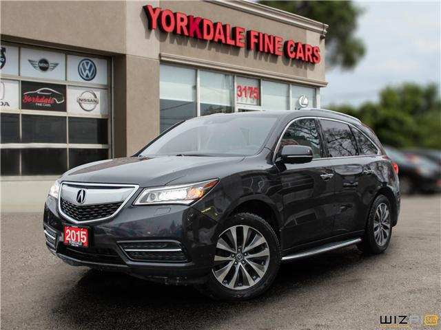 2015 Acura MDX Navigation Package (Stk: Y1 2159) in Toronto - Image 1 of 27