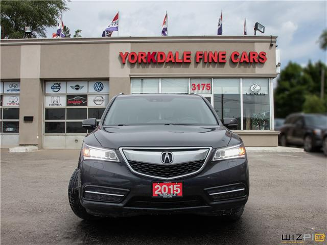 2015 Acura MDX Navigation Package (Stk: Y1 2159) in Toronto - Image 2 of 27
