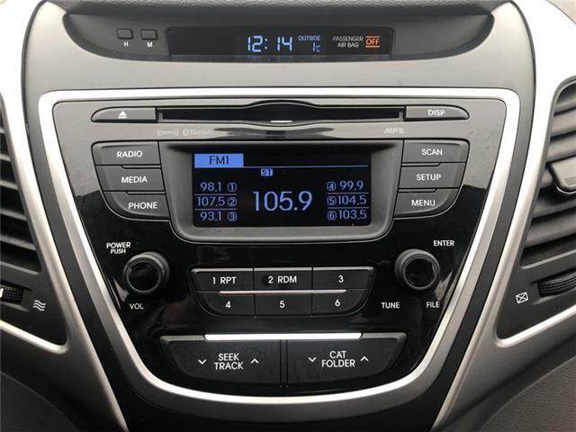 2014 Hyundai Elantra GL (Stk: DK2567A) in Orillia - Image 16 of 20