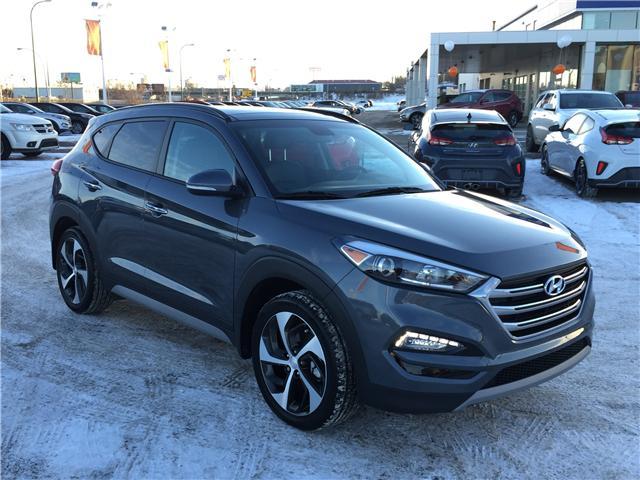 2018 Hyundai Tucson SE 1.6T (Stk: B7197) in Saskatoon - Image 1 of 27