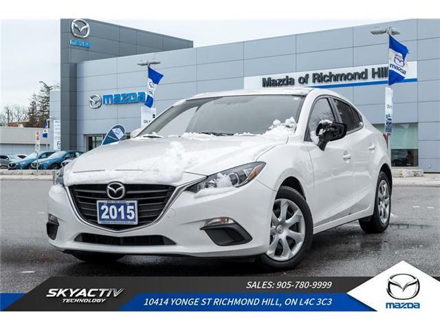 2015 Mazda Mazda3 GX (Stk: 18-831A) in Richmond Hill - Image 1 of 18