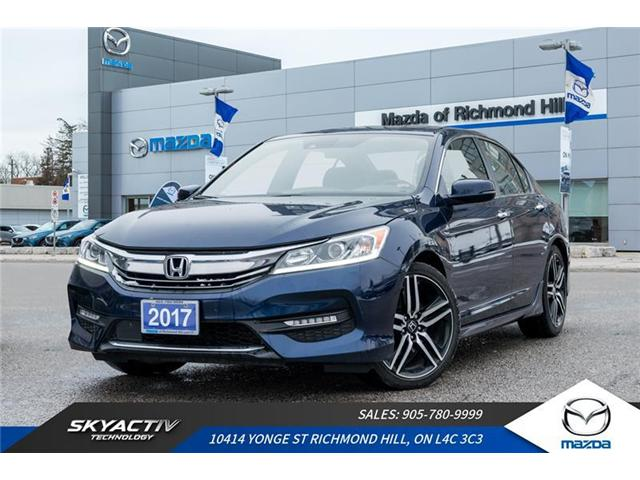 2017 Honda Accord Sport (Stk: 18-887A) in Richmond Hill - Image 1 of 20