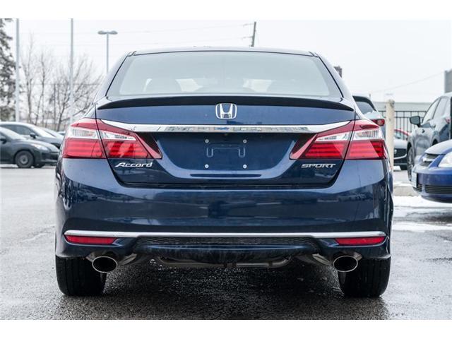 2017 Honda Accord Sport (Stk: 18-887A) in Richmond Hill - Image 6 of 20