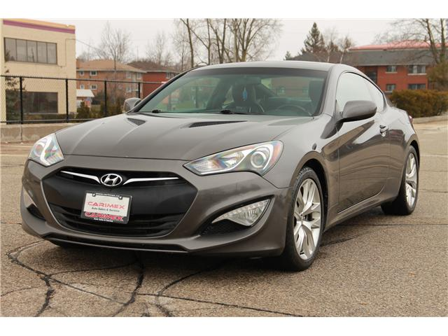 2013 Hyundai Genesis Coupe 2.0T Premium (Stk: 1811568) in Waterloo - Image 1 of 22