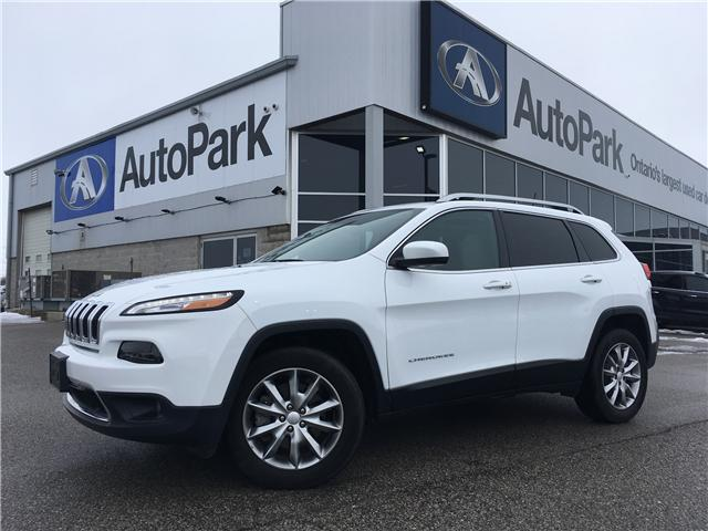 2018 Jeep Cherokee Limited (Stk: 18-14239RMB) in Barrie - Image 1 of 29