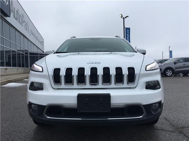 2018 Jeep Cherokee Limited (Stk: 18-14239RMB) in Barrie - Image 2 of 29
