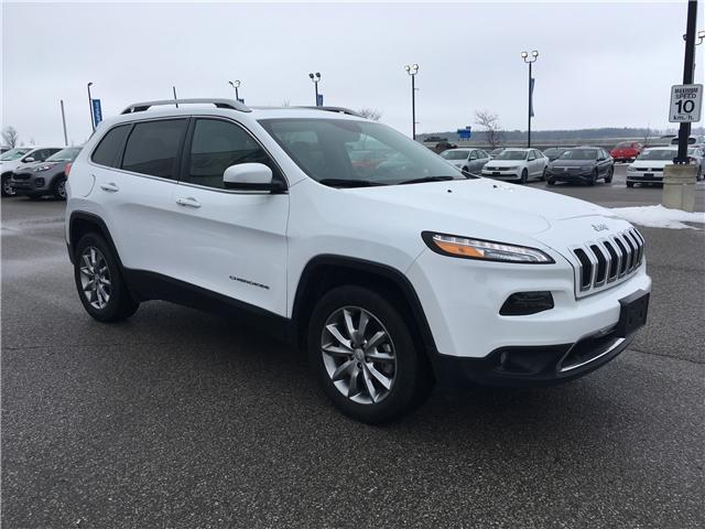 2018 Jeep Cherokee Limited (Stk: 18-14239RMB) in Barrie - Image 3 of 29