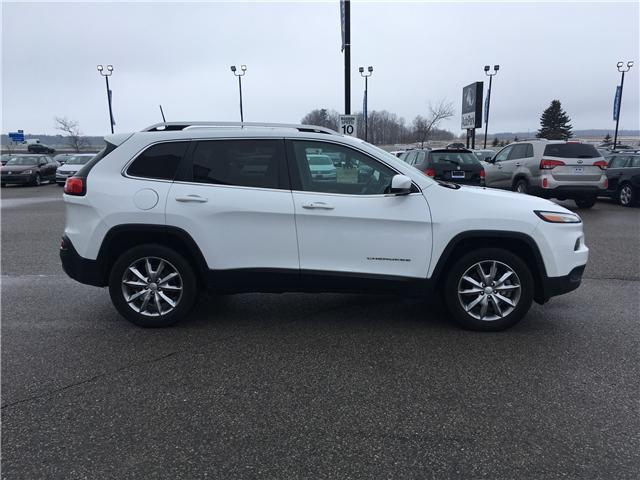 2018 Jeep Cherokee Limited (Stk: 18-14239RMB) in Barrie - Image 4 of 29