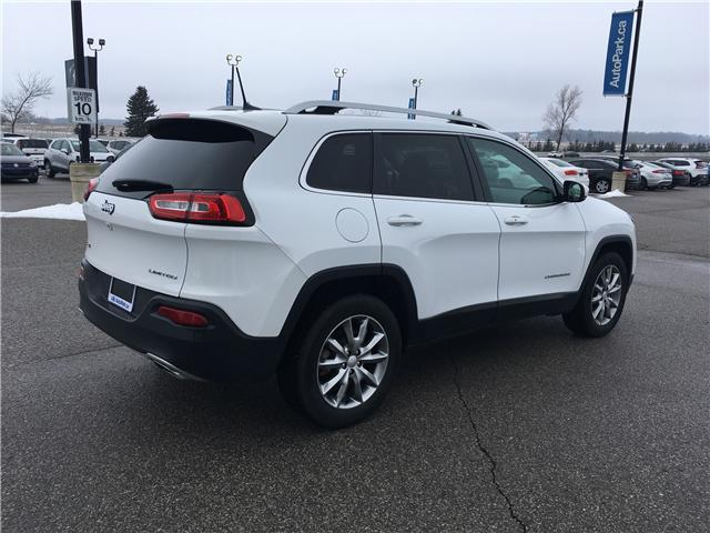2018 Jeep Cherokee Limited (Stk: 18-14239RMB) in Barrie - Image 5 of 29