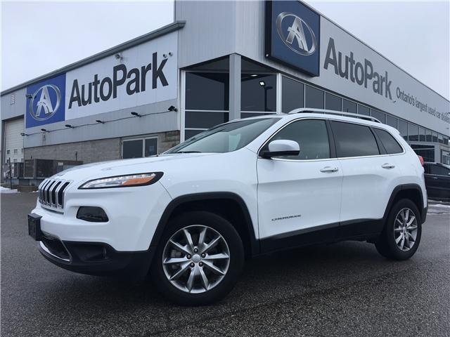 2018 Jeep Cherokee Limited (Stk: 18-31811MB) in Barrie - Image 1 of 30