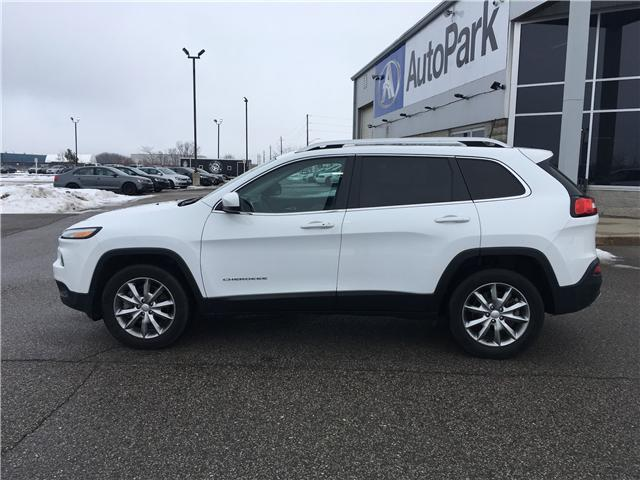 2018 Jeep Cherokee Limited (Stk: 18-14239RMB) in Barrie - Image 8 of 29