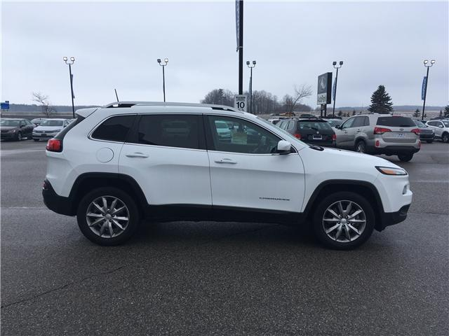2018 Jeep Cherokee Limited (Stk: 18-31811MB) in Barrie - Image 4 of 30