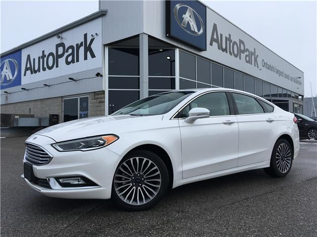 2017 Ford Fusion SE (Stk: 17-75984RMB) in Barrie - Image 1 of 28
