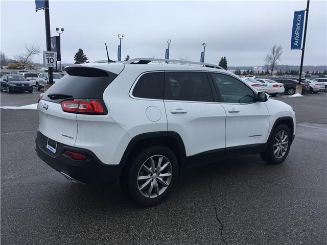 2018 Jeep Cherokee Limited (Stk: 18-31811MB) in Barrie - Image 5 of 30