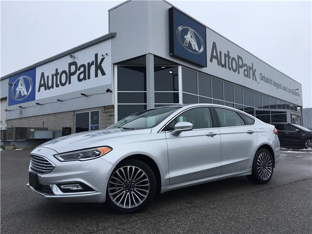 2017 Ford Fusion SE (Stk: 17-76049RMB) in Barrie - Image 1 of 28
