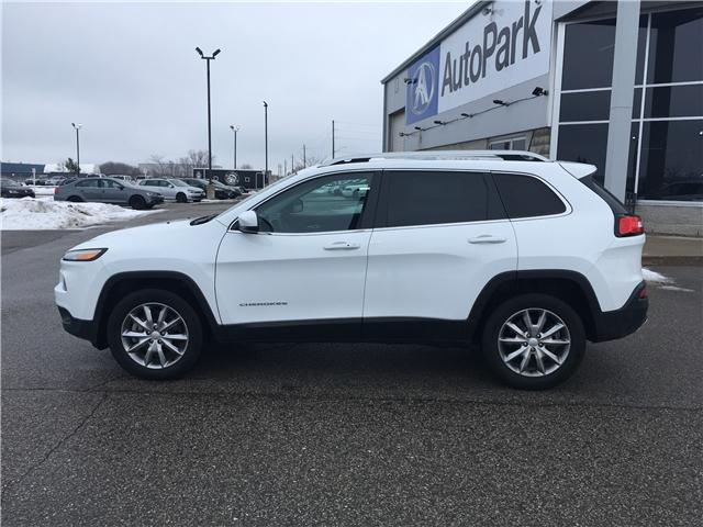 2018 Jeep Cherokee Limited (Stk: 18-31811MB) in Barrie - Image 8 of 30