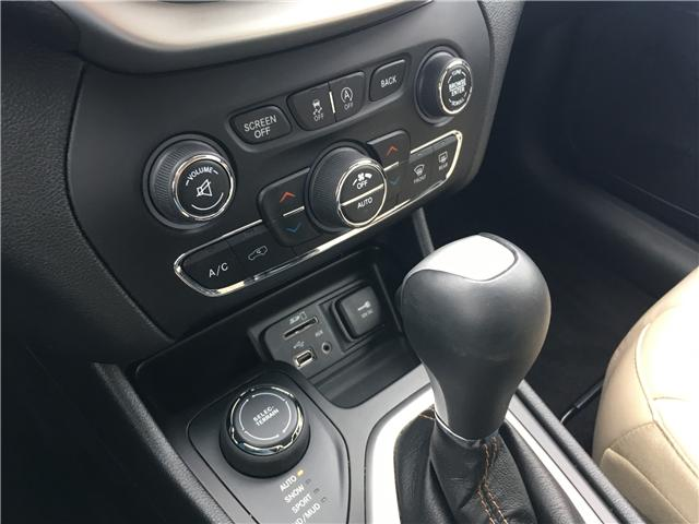 2018 Jeep Cherokee Limited (Stk: 18-14239RMB) in Barrie - Image 25 of 29