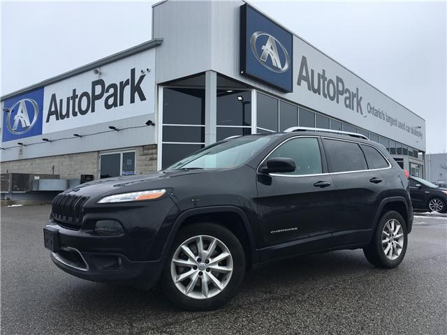 2015 Jeep Cherokee Limited (Stk: 15-12819JB) in Barrie - Image 1 of 27
