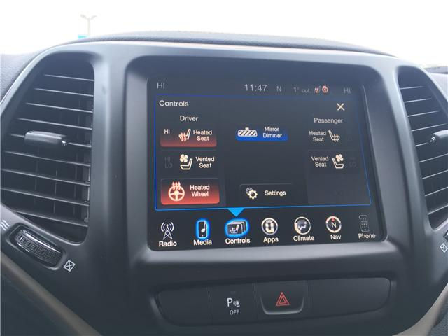 2018 Jeep Cherokee Limited (Stk: 18-31811MB) in Barrie - Image 27 of 30