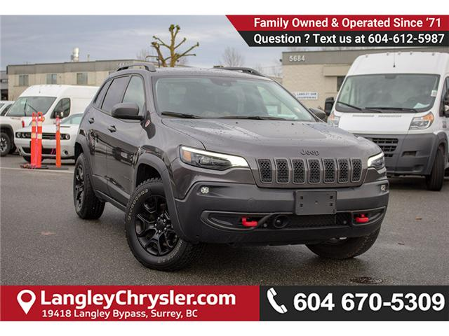 2019 Jeep Cherokee Trailhawk (Stk: EE899840) in Surrey - Image 1 of 29