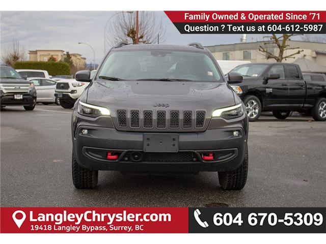 2019 Jeep Cherokee Trailhawk (Stk: EE899840) in Surrey - Image 2 of 29
