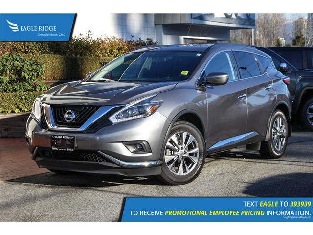 2018 Nissan Murano SV (Stk: 189301) in Coquitlam - Image 1 of 17