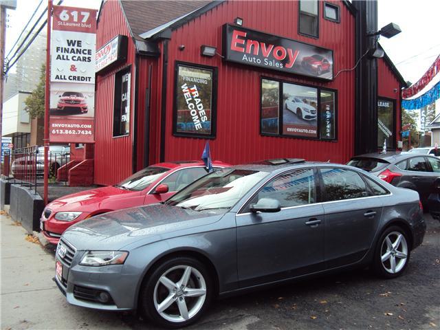 2012 Audi A4 2.0T Premium (Stk: ) in Ottawa - Image 1 of 24