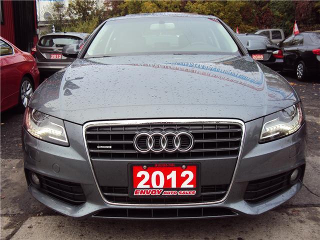 2012 Audi A4 2.0T Premium (Stk: ) in Ottawa - Image 2 of 24