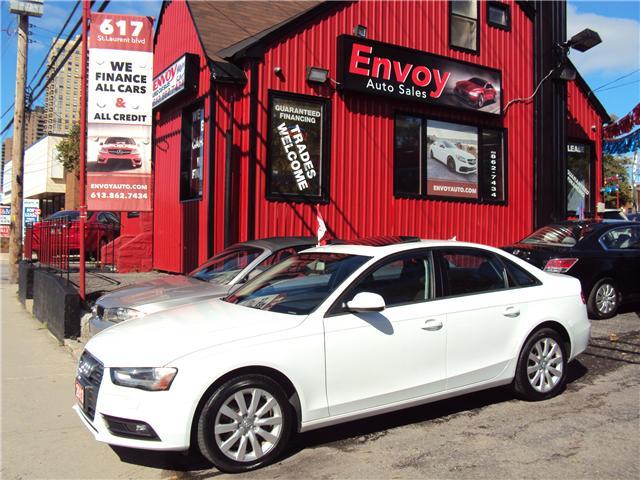 2013 Audi A4 2.0T Premium (Stk: ) in Ottawa - Image 1 of 25
