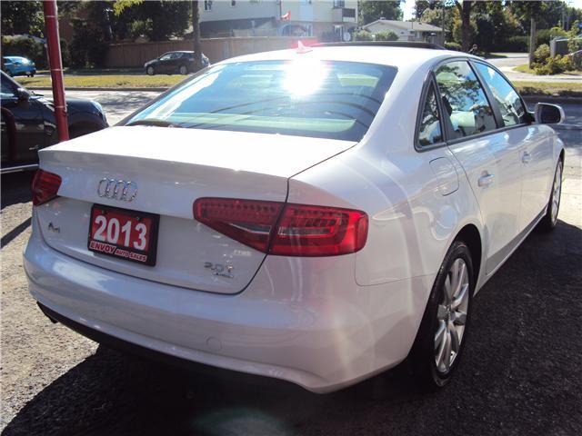 2013 Audi A4 2.0T Premium (Stk: ) in Ottawa - Image 4 of 25