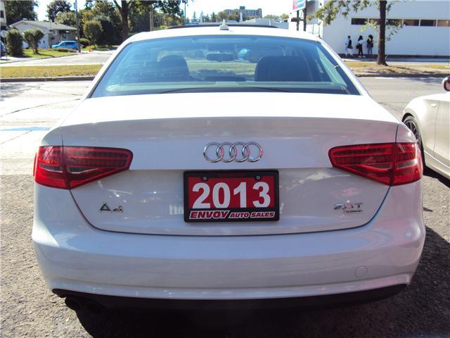 2013 Audi A4 2.0T Premium (Stk: ) in Ottawa - Image 5 of 25