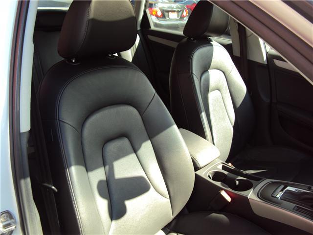 2013 Audi A4 2.0T Premium (Stk: ) in Ottawa - Image 15 of 25