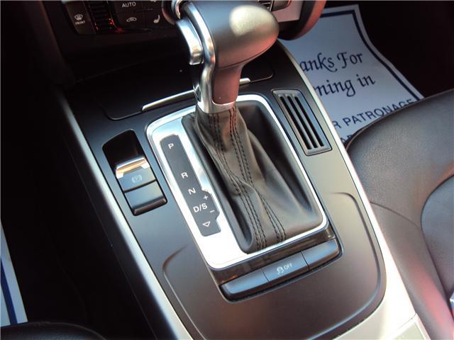 2013 Audi A4 2.0T Premium (Stk: ) in Ottawa - Image 16 of 25