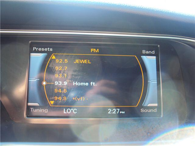 2013 Audi A4 2.0T Premium (Stk: ) in Ottawa - Image 22 of 25